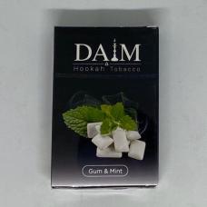Табак для кальяна Daim Gum Mint (Жвачка мята) 50g