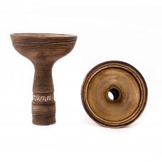 Глиняная чаша для кальяна MUMMY LEX под калауд