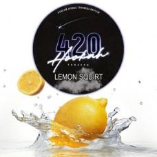 Табак для кальяна 420 Lemon Squirt (Лимон)