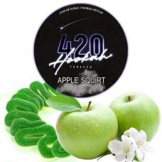 Табак для кальяна 420 Apple Squirt (Яблочная Конфета)