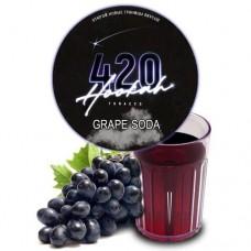 Табак для кальяна 420 Grape Soda (Виноградная Газировка)