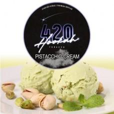 Табак для кальяна 420 Pistacchio Cream (Фисташковое Джелатто)