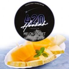 Табак для кальяна 420 Melon Sorbet (Дынный сорбет)