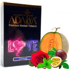 Табак для кальяна Adalya Love 66 (Арбуз, Маракуя, Ментол)