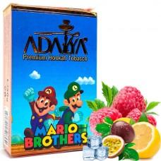 Табак для кальяна Adalya Mario Brothers (Лёд, Лимон, Малина, Маракуя)
