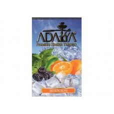 Табак для кальяна Adalya Seven Seas (Апельсин Ежевика Мята Ментол)