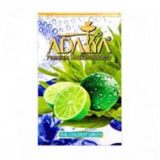 Табак для кальяна Adalya The Coldest Green (Зелёное Яблоко Лайм Айс)