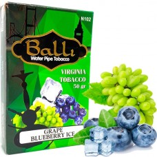 Табак для кальяна Balli Grape blueberry ice (Виноград черника айс)