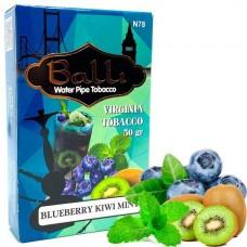 Табак для кальяна Balli Blueberry Kiwi Mint (Черника, Киви, Мята)