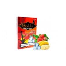 Табак для кальяна Balli Strawberry banana ice (Айс банан клубника)