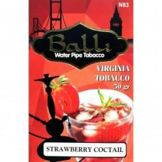 Табак для кальяна Balli Strawberry cocktail (Клубничный коктейл со льдом)