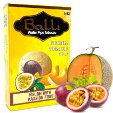 Табак для кальяна Balli Melon with passion fruit (Дыня маракуя)