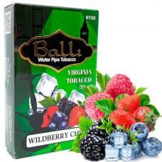 Табак для кальяна Balli Wildberry chill (Лесная ягода айс)