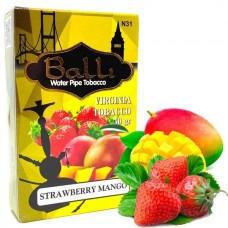 Табак для кальяна Balli Strawberry mango (Клубника манго)