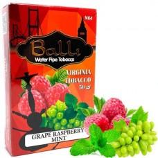 Табак для кальяна Balli Grape raspberry mint (Виноград малина мята)