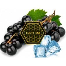 Табак для кальяна CULTt C58 (Черный виноград, лёд)