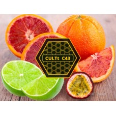 Табак для кальяна CULTt C43 - Passion fruit, Lime Grapefruit (Маракуйя, лайм, грейпфрут )