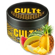 Табак для кальяна CULTt C25 Pineapple, Watermelon, Melon (Ананас, Арбуз, дыня)