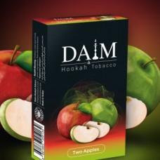 Табак для кальяна Daim Two apple (Двойное яблоко) 50g