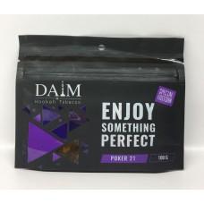 Табак для кальяна Daim Special edition 100gr Poker 21 (кисло-сладкий ягодный микс)