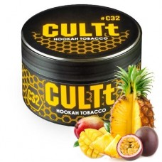 Табак для кальяна CULTt C32 Mango Passion Fruit, Pineapple (Манго, Маракуя, Ананас)