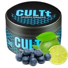 Табак для кальяна CULTt C89 Blueberry Lime (Черника Лайм)