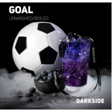 Табак для кальяна Dark Side Goal (Черничный крамбл, Энергетик)