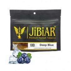 Табак для кальяна Jibiar Deep Blue (Черника Лёд)