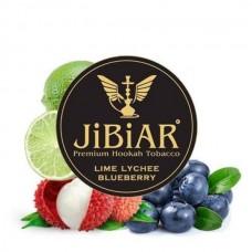 Табак для кальяна Jibiar Lime lychee Blueberry (Лайм личи черника)
