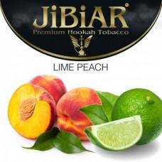 Табак для кальяна Jibiar Lime peach (Персик лайм)