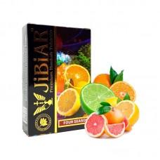 Табак для кальяна Jibiar 50 gr Four seasons (Апельсин Грейпфрут Лайм Лимон)
