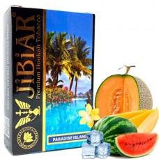 Табак для кальяна Jibiar 50 gr Paradise island (Арбуз Ваниль Дыня Лед Манго)