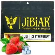 Табак для кальяна Jibiar Ice Strawberry (Айс клубника)