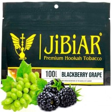 Табак для кальяна Jibiar Blackberry Grape (Ежевика Виноград)