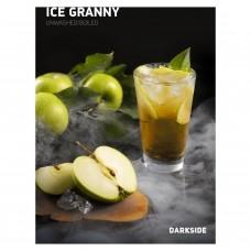 Табак для кальяна Dark Side Ice Granny (Зеленое яблоко айс)