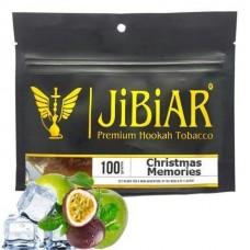 Табак для кальяна Jibiar Cristmas Memories (Лёд Маракуя Яблоко)