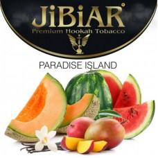 Табак для кальяна Jibiar Paradise island (Арбуз ваниль дыня манго)