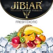 Табак для кальяна Jibiar Fresh Exotic (Лёд, Личи, Манго, Маракуйя)