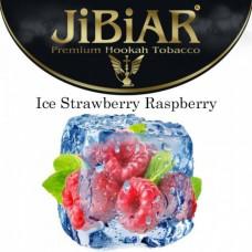 Табак для кальяна Jibiar Ice Strawberry Raspberry (Айс клубника малина)