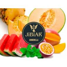 Табак для кальяна Jibiar Cinderella (Лесные ягоды, арбуз, дыня, манго, маракуйя, лед)