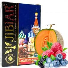 Табак для кальяна Jibiar 50 gr Moscow Night (Виноград, Черника, Лимон, Дыня, Лёд)