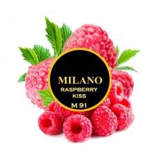 Табак для кальяна Milano Raspberry Kiss M91 (Малина)