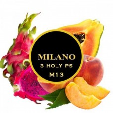Табак для кальяна Milano 3Holy P'S M13 (Персик, Папая, Питахая)