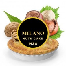 Табак для кальяна Milano Nuts cake M30 (Ореховый пирог)