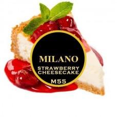 Табак для кальяна Milano Strawberry Cheesecake (Клубничный чизкейк)