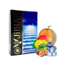 Табак для кальяна Jibiar 50 gr Blue Heaven (Дыня лёд, Манго, Маракуя, черника)