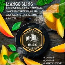 Табак для кальяна Must Have Mango Sling (Лимонад с манго и мятой) 125gr
