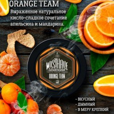 Табак для кальяна Must Have Orange Team (Апельсин мандарин) 125gr