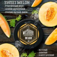 Табак для кальяна Must Have Sweet Melon (Сладкая мускусная дыня) 125gr