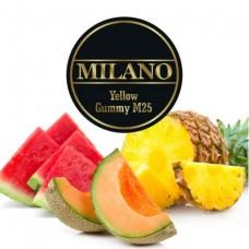 Табак для кальяна Milano Yellow Gummy M25 (Дыня, Арбуз, Ананас)